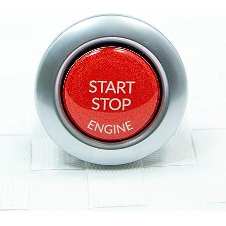 Kkmoon Rfid Alarmanlage Mit Start Stopp Taste Diebstahlschutz System Mit Schlüsselloser Zündung Auto