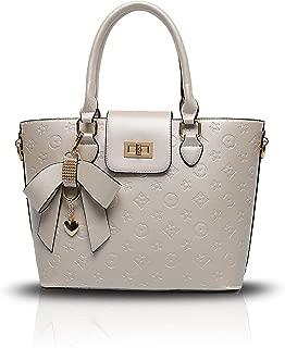 Tisdaini Ladies handbag fashion embossed shoulder Messenger bag bright leather case leather bag retro simple large capacity package