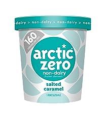 Arctic Zero, Non-Dairy Desserts, Salted Caramel, 16 oz (Frozen)