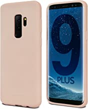 Goospery Soft Feeling Jelly for Samsung Galaxy S9 Plus Case (2018) Silky Slim Bumper Cover (Pink Sand) S9P-SFJEL-PSND