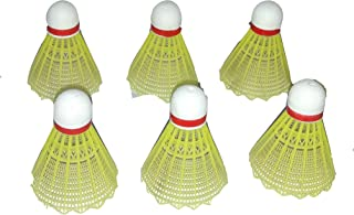 Sportsholic 6 pc Plastic Shuttlecock for Kids 3 to 8 Years Outdoor Play