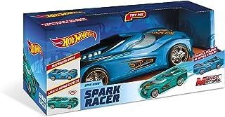 Mondo - Hot Wheels Spark Racer Spin King, Blue, 51198