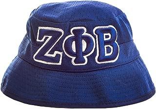 Zeta Phi Beta Ladies Letter Mesh Floppy Hat