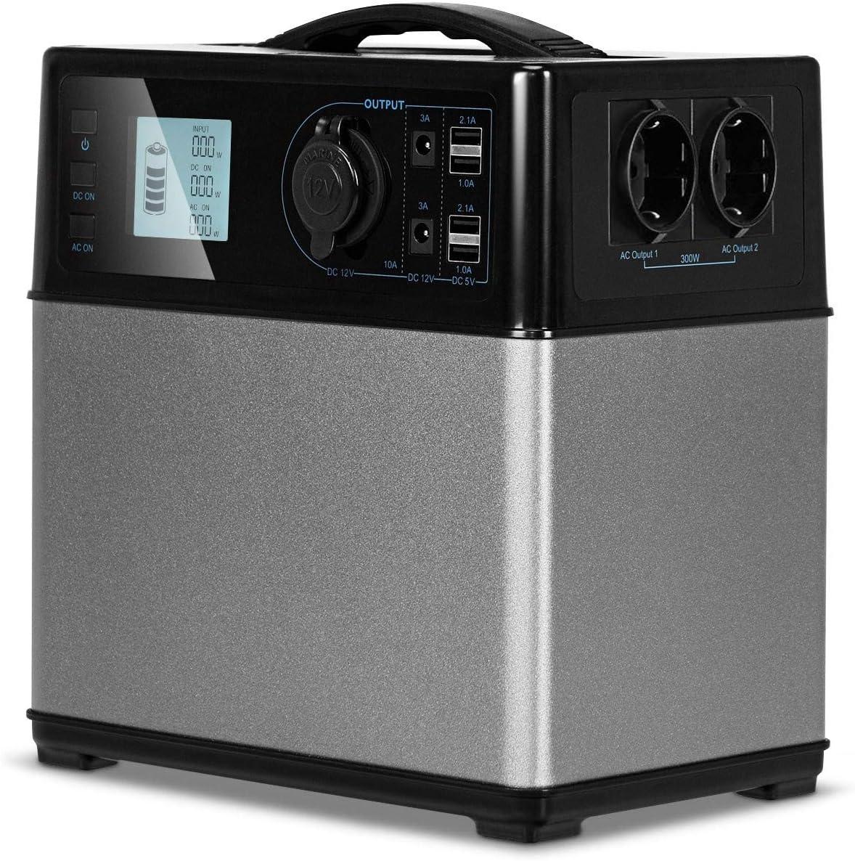 Taltintoo20 400 Watt Hour Portable Max 71% OFF Supply Luxury Energy Power Solar Gen
