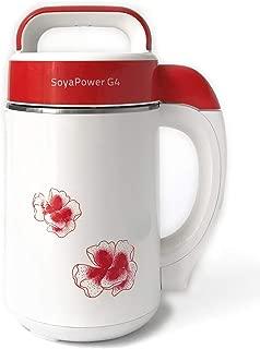 Soyapower G4 Soy Milk Maker, Almond Milk Maker, Rice Milk Maker, and Soup Maker - New Model All Stainless Steel Inside