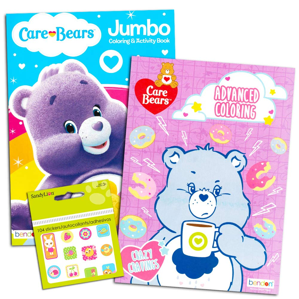 Care Bears Coloring Stickers Supplies