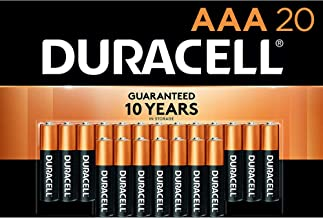 Duracell - CopperTop AAA Alkaline Batteries - long lasting, all-purpose Double A battery for household and business - 20 C...