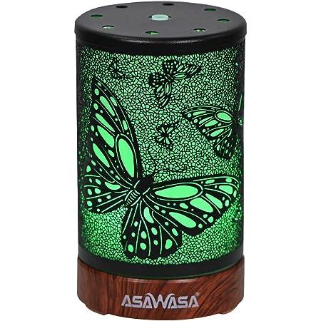 Cielo azul difusores de 500 ml para aceites esenciales Difusor de aceite de aroma Cool 7 Color LED Humidificador ultras/ónico Difusor de aromaterapia
