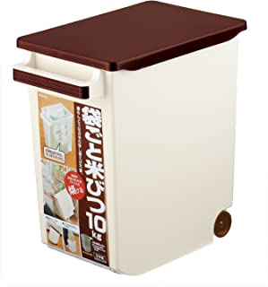 イノマタ化学 米びつ 袋ごと米びつ 計量カップ付き 10Kg [並行輸入品]