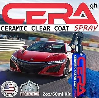 9H Ceramic CAR Coating KIT Nano Quartz Anti Scratch Protection Ultra Gloss Spray (2oz)