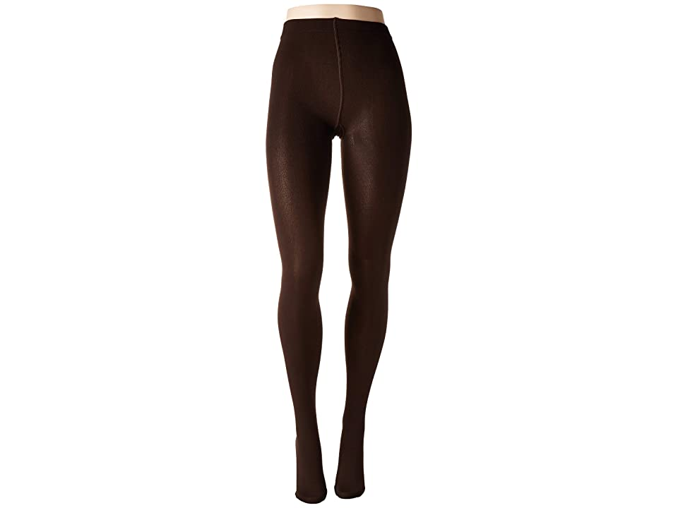 HUE Brushed Sweater Tights (Espresso) Hose, Brown
