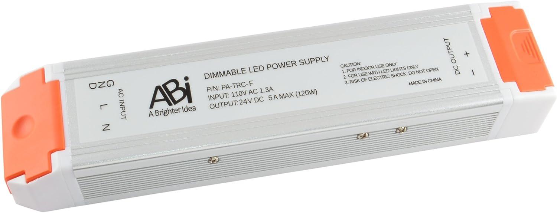 ABI 24V 120W unisex Power Supply Driver Dimmable for TRIAC Transformer San Francisco Mall