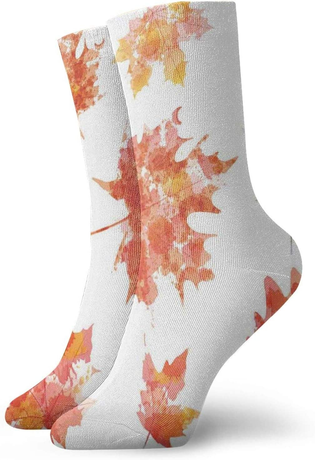 Ankle Compression Sock for outlet Men Watercolor Effect and Women Daily bargain sale Autum