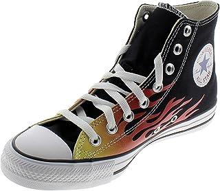 Converse CTAS Hi Flame Chaussures DE Sport pour Homme Noir 171130C