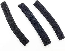 Reki 3pcs Premium Foam Tubes Compatible with Plantronics WH500 CS540 W440 Savi W740 Earloops - Satisfaction Guarantee! (6pcs)