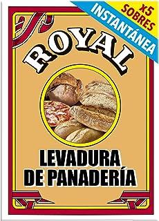 comprar comparacion Royal Levadura de Panadería Instantánea en Formato Polvo - 5 Sobres, 27,5 g