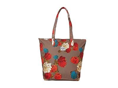 Herschel Supply Co. Mica (Vintage Floral Pine Bark) Tote Handbags