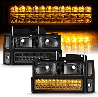 Best 88 98 chevy led headlights Reviews