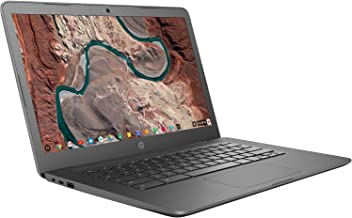 HP Chromebook 14-inch Laptop with 180-Degree Hinge, Touchscreen Display, AMD Dual-Core A4-9120 Processor, 4 GB SDRAM, 32 G...