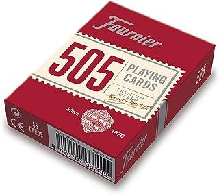 comprar comparacion Fournier- Nº 505 Baraja Cartas Poker Clásica, Color rojo o azul (F21644) , color/modelo surtido