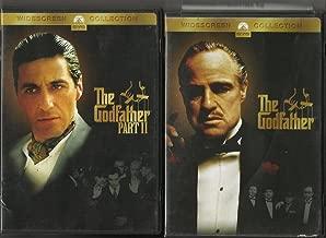 THE GODFATHER PART 1 & 2 DVD SET!