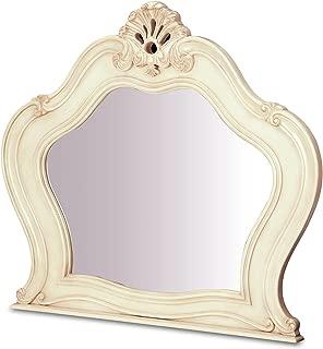 Michael Amini Chateau de Lago Dresser Mirror, Blanc