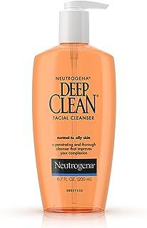 Neutrogena 露得清深层清洁洁面乳,中性和油性皮肤, 6.7盎司(6支装)