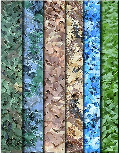 Ronghuafugui Filet de Camouflage Anti-Avion pour Chasse, Camping, Tente armée, décoration de fête à thème, Filet de Camouflage et Support Grille, Tissu Oxford, Desert(2), 10×10M