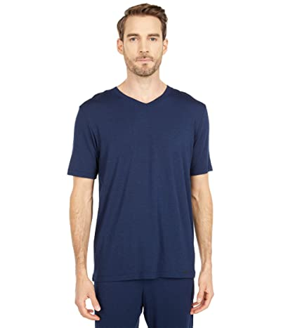 Hanro Casuals Short Sleeve V-Neck Shirt