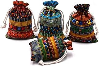 Venxic Drawstring Gift Bags Jewelry Pouches Birthday Party Favors Storage Sacks 5.4