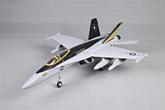 FMS 64mm F-18 Hornet V2 Grey Ducted Fan EDF RC Airplane Jet PNP (No Radio, Battery, Charger)