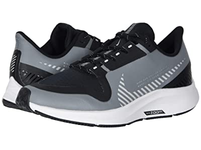 Nike Kids Air Zoom Pegasus 36 Shield (Little Kid/Big Kid) (Cool Grey/Silver/Black/Vast Grey) Kids Shoes