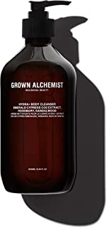 Grown Alchemist Hydra+ Body Cleanser: Emerald Cypress Co2 Extract, Rosemary, Sandalwood, 500 ml