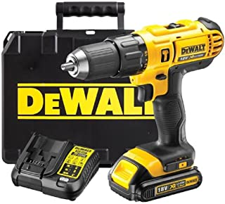 DEWALT 18V CORDLESS LITHIUM LXT COMBI DRILL,DRILL DRIVER WITH HAMMER ACTION FACILITY COMPLETE WITH LITHIUM BATTERY,FAST CH...