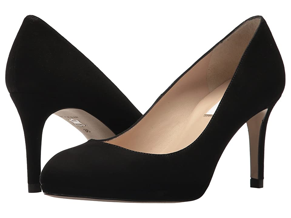 L.K. Bennett Sybila (Black New Suede) High Heels