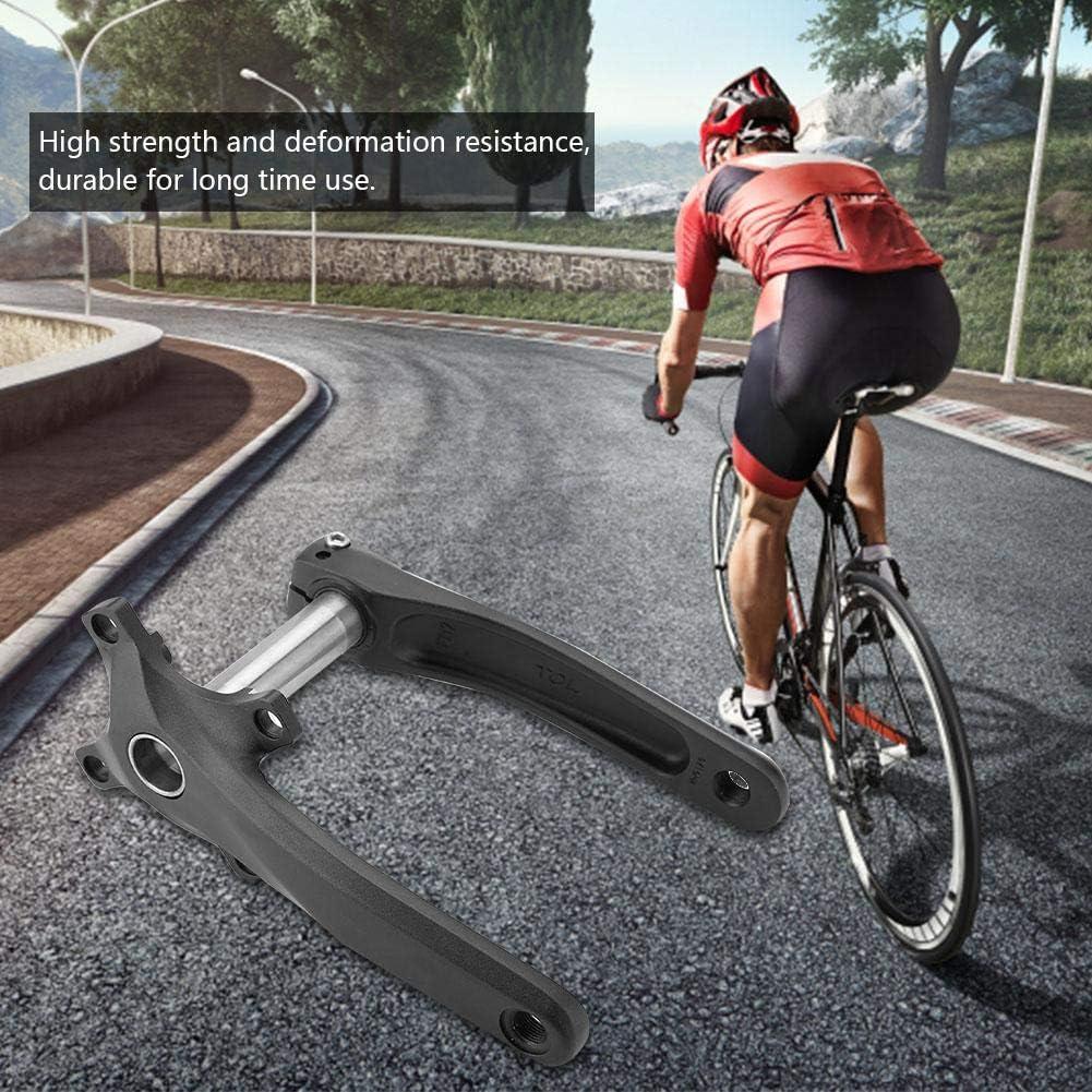 VGEBY1 Braccio manovella Bici guarnitura in Lega Leggera Mountain Bike BCD 104mm per Sostituzione Riparazione Bici