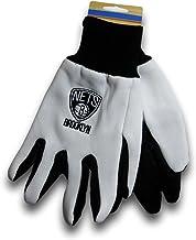 McArthur Brooklyn Two-Tone Utility Grip Gloves (White/Black)