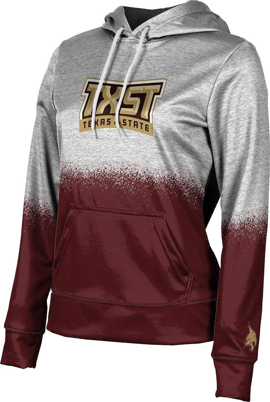 ProSphere Texas State University Girls' Pullover Hoodie, School Spirit Sweatshirt (Spray Over)