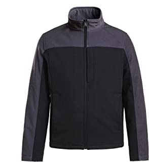 Sponsored Ad - XPOSURZONE Men's Water Resistance Softshell 3-Layer Colorblock Jacket