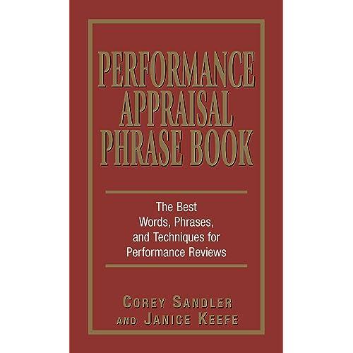 Amazon.com: Performance Appraisal Phrase Book: The Best ...