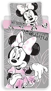 Jerry Fabrics Juego de Cama paraNiñoscon Cremallera, Diseño Mickey and Friends, Algodón, Multicolor, 200x140x0.5 cm