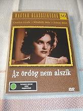 Az ördög nem alszik (1941) / Black and White Hungarian Classic / HUNGARIAN Audio Only [European DVD Region 2 PAL]