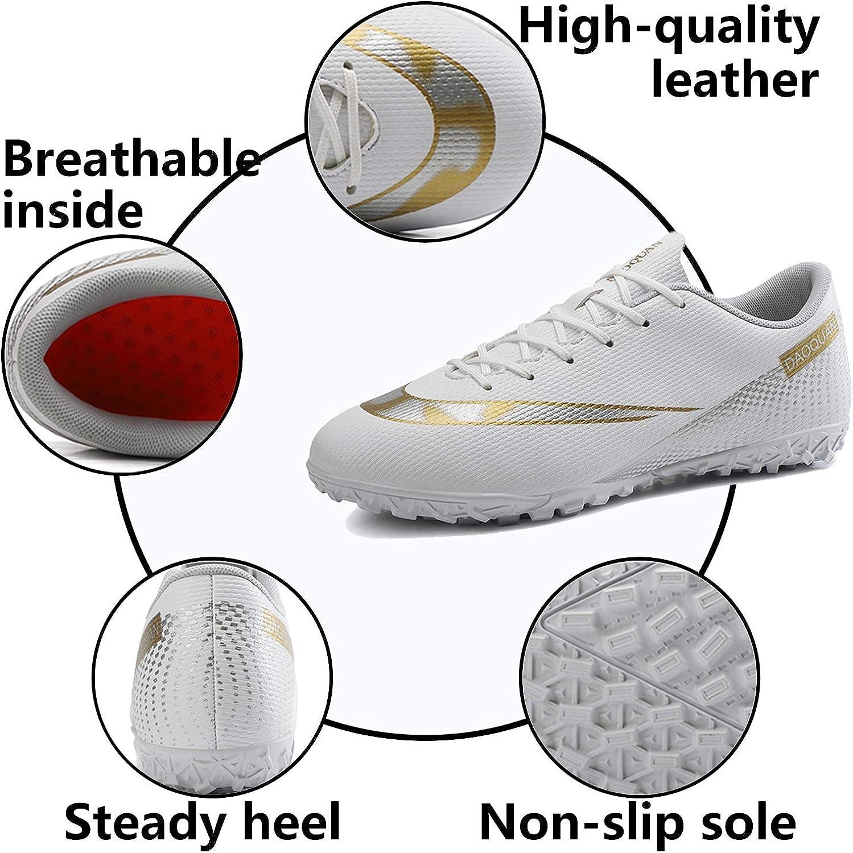 Topwolve Chaussures de Football Homme Profession Athl/étisme Entrainement Chaussures de Sport en Plein Air Adolescents Unsisexe