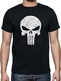 The Fan Tee Camiseta de Hombre Punisher Superheroe Comic Castigador