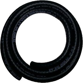PRO 1 Fuel Line Hose 1/4 Inch Inside Diameter X 5 Feet Length NRB/PVCC SAE30R6: image