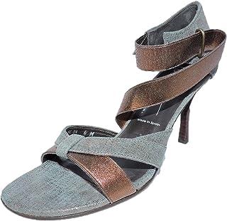 0d08b84c49f Donald J Pliner Womens Jeruse Open Toe Rust Bronze Sandals