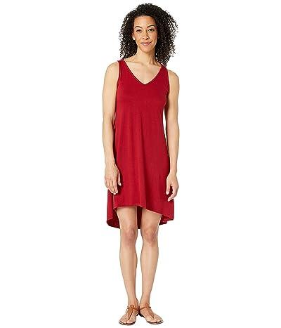 Stetson 3018 Rayon Spandex Jersey Sleeveless Dress (Red) Women