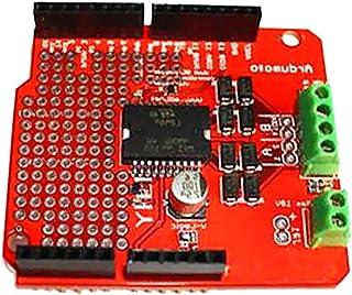 FLAMEER printplaat van kunststof L298P motor Shield 2A Driver Mega 2560 Ardumoto rood