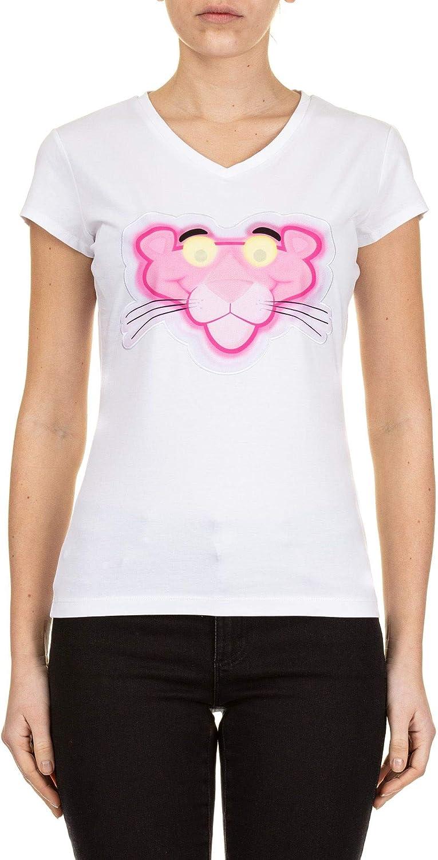 ICEBERG Women's F08163091101 White Cotton TShirt