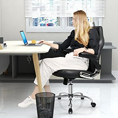 Gaming Chair, Racing Style Bonded Leather Gamer Chair, Ergonomic Office Chair Computer Desk Executive Chair, with Adjustable
